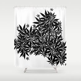 grass illusion Shower Curtain