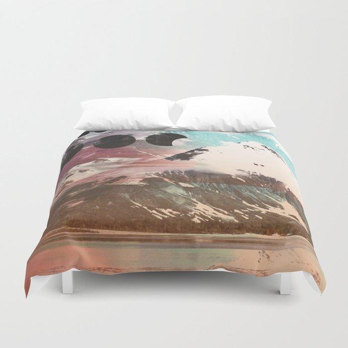Mountainous Range Duvet Cover