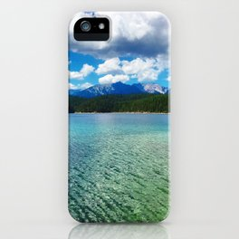 Glorious Eibsee iPhone Case