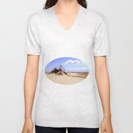 dust in the wind Unisex V-Neck