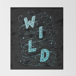 W I L D Throw Blanket