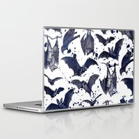 bats Laptop & iPad Skins featuring BATS by DIVIDUS
