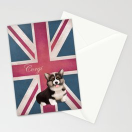 Royal Corgi Baby Stationery Cards
