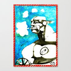 SMOKER TWO (from Gotham City) Canvas Print