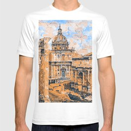 Rome Imperial Fora T-shirt