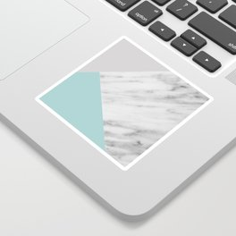 Ice Color Marble Collage Sticker