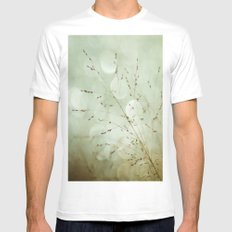 Delightful Dreams  Mens Fitted Tee MEDIUM White