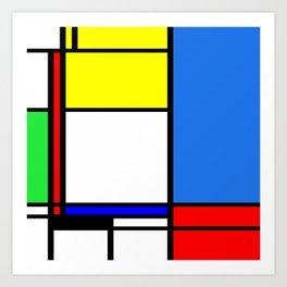 Mondrian New Art Print