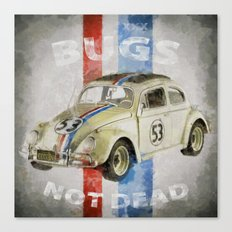 Bugs Not Dead ! (Here's come herbie...) Canvas Print