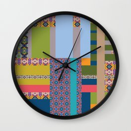 All about pattern Wall Clock