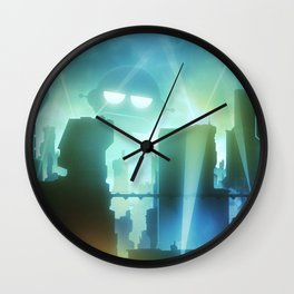 Robot Invasion Wall Clock