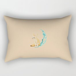 lonely Fennec (blue) Rectangular Pillow