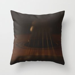 The soul of music Throw Pillow