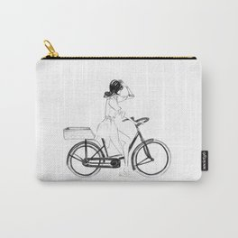 Anita | Fashion illustration Carry-All Pouch