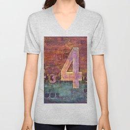 Journey by Number: 4 Unisex V-Neck