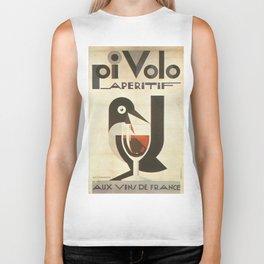 Vintage poster - Pivolo Aperitif Biker Tank