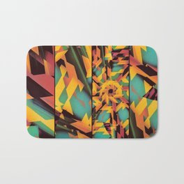 Delayed Impact Bath Mat