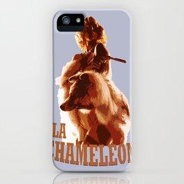 La Chameleón iPhone Case