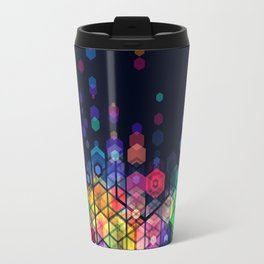 Monstrously colorful elementary particles Travel Mug