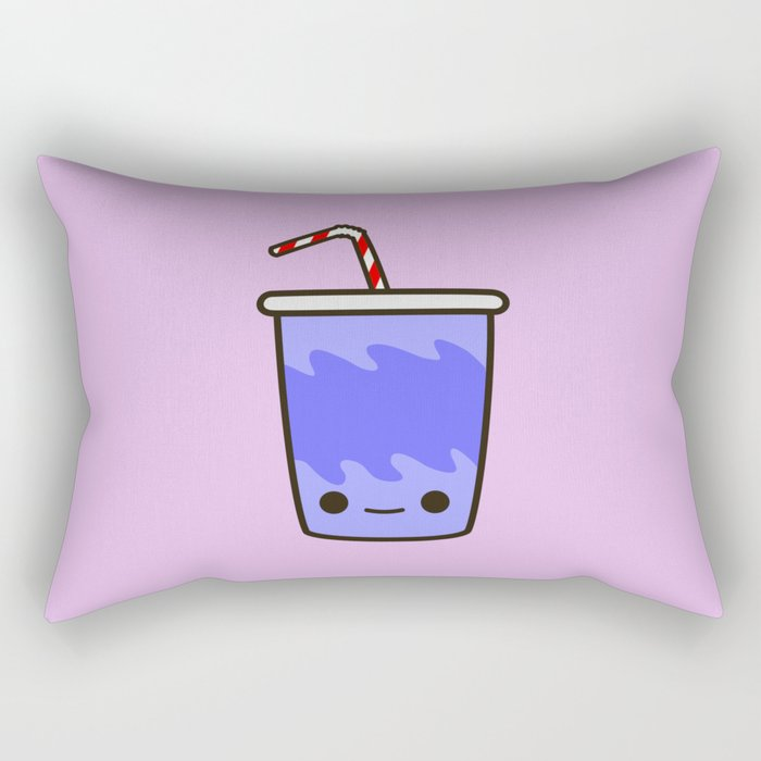 Yummy kawaii soft drink Rectangular Pillow