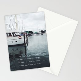 Boats and Water Stationery Cards