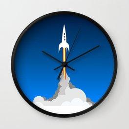 Blast Off! Wall Clock