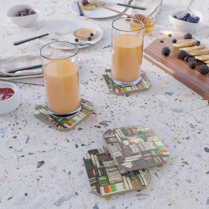 Cassettes, VHS & Games Coaster