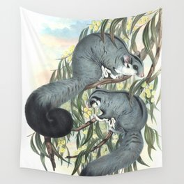 Sugar Glider in the forest of Australia and USA Wall Tapestry