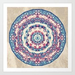 Dutchesque Mandala Art Print