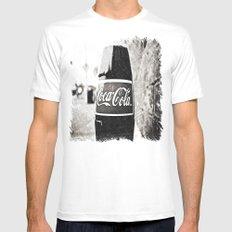Coca-Cola closer White MEDIUM Mens Fitted Tee