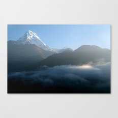 Mountains at Sunrise Poon Hill Canvas Print