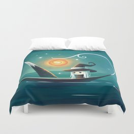 Little Witch 3 Duvet Cover