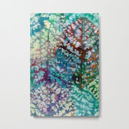 Colorful leaves II Metal Print