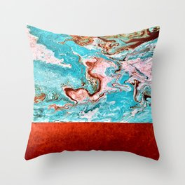 Earth and the Sky Throw Pillow