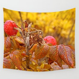 Autumn leafs Wall Tapestry