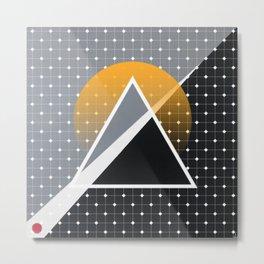 London - Abstract Sunset Metal Print