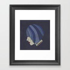 Heads Will Roll (Blues) Framed Art Print