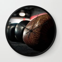 Boxing Gloves - © Doc Braham; All Rights Reserved Wall Clock