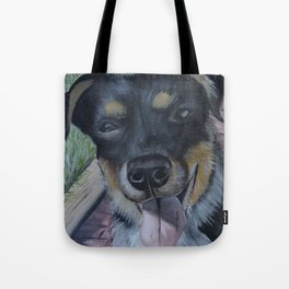Cattle Dog Pup Tote Bag