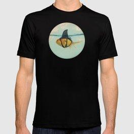 Goldfish with a Shark Fin RM02 T-shirt