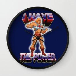 The Power Wall Clock
