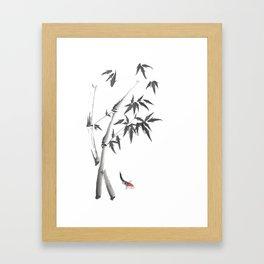 Leaves or Fishes? Framed Art Print