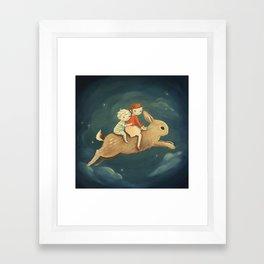 Bunny Kids by Emily Winfield Martin Framed Art Print