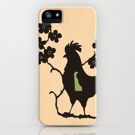 Delaware - State Papercut Print iPhone Case