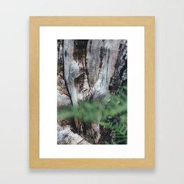 Combien de temps pour t'oublier? X Framed Art Print
