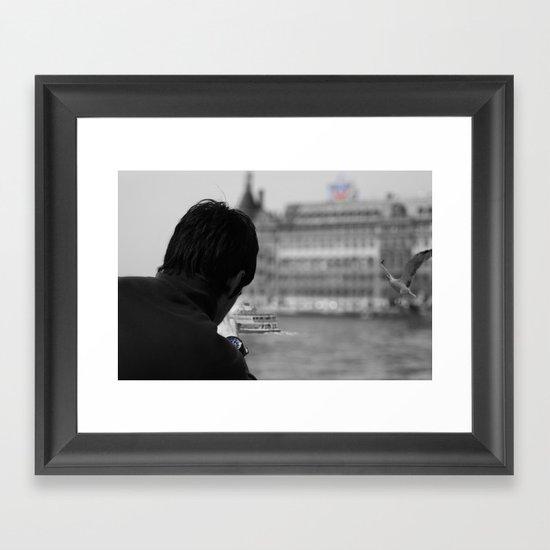 haydarpasa Framed Art Print