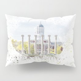 Mizzou Columns Splash Pillow Sham