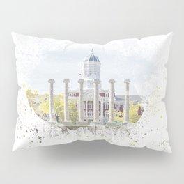 Mizzou Columns Splash Pillow Sham