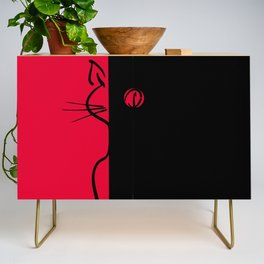 The Black Cat ~ From Sinners And Saints ~ Bohème Credenza