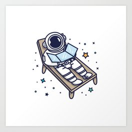 Best Place to Tan Art Print